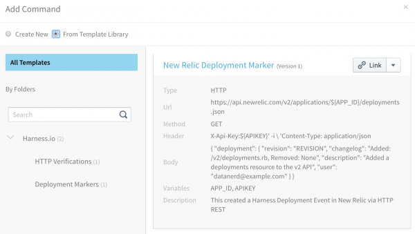 Template Library - Harness Continuous Delivery - Product Shot
