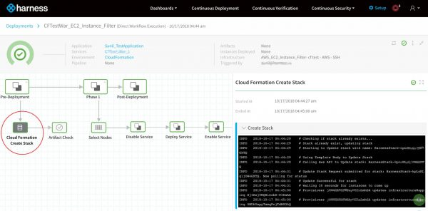 Harness Deployment - Harness Continuous Delivery - Product Shot