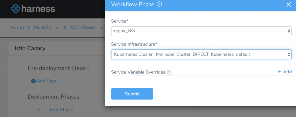 Workflow Phase - Harness Continuous Delivery