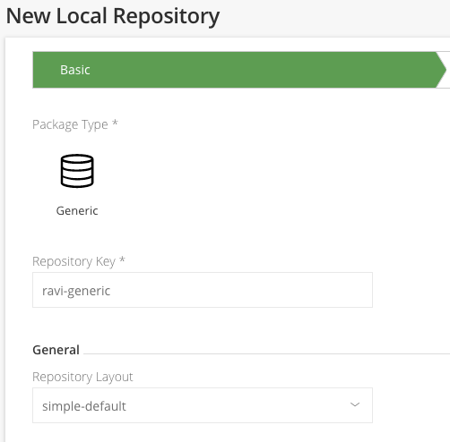 jFrog Local Repository - Harness Continuous Delivery