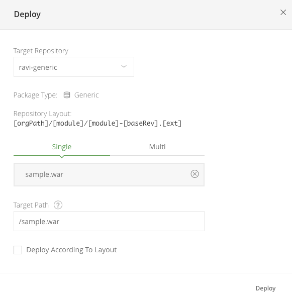 Deploy - Harness Continuous Delivery